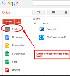 Share Docs and Assignments with Students Using Google Drive Shared Folders