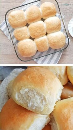 These soft bread rolls are the best rolls you could make! Perfect to serve with any dish, these easy dinner rolls are fluffy & light, impossible to resist! Soft Bread Rolls Recipe, Easy Yeast Rolls, Dinner Rolls Recipe No Milk, School Yeast Rolls Recipe, Home Made Rolls Recipe, Super Soft Bread Recipe, Buttermilk Rolls Recipe, Sandwich Buns Recipe, Crusty Rolls