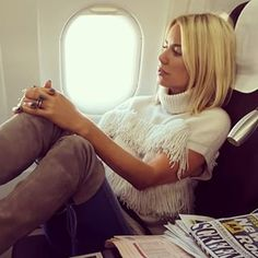 Travel as if the airport is one long fashion show. | 19 Steps To Living Like Caroline Stanbury