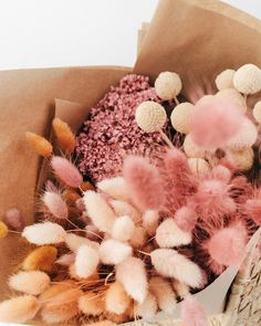Bridal bouquet pastel blushes peaches 29 ideas for 2019 My Flower, Fresh Flowers, Dried Flowers, Beautiful Flowers, Flowers For Love, Pink Flowers, Coral Peonies, Dried Flower Bouquet, Pink Bouquet