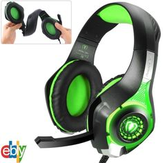 Xbox One, PlayStation 4, PC surround Stereo Gaming Headset Headphones With Mic  #UnbrandedGeneric
