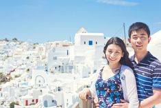 The perfect honeymoon photography session on the spectacular island of Santorini. Honeymoon Photography, Film Photography, Couple Photography, Santorini, Greece, Island, Travel, Greece Country, Viajes