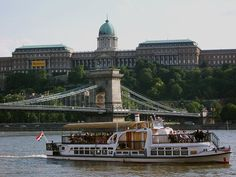 Chain Bridge with Royal Castle in the back Daniel Csörföly (from Budapest, Hungary) Budapest Castle with ship