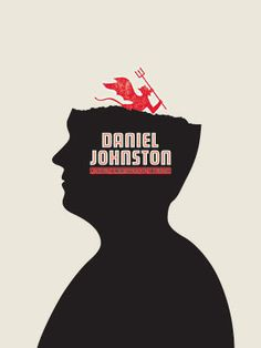 Daniel Johnston Poster / The Small Stakes design