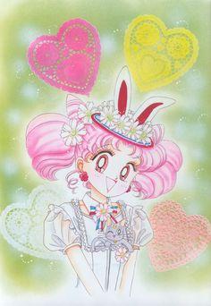 美少女戦士セーラームーン原画集 Bishoujo Senshi Sailor Moon Original Picture Collection Vol.3 - by Naoko Takeuchi - Front cover of the March 1995 Run-Run