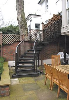 Exceptionally clean cut and eye catching external staircase designs