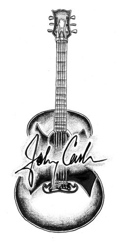 johnny cash signature tattoo - Google Search