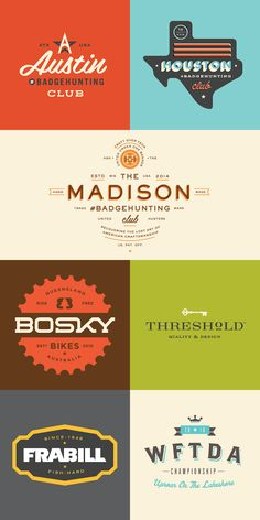 Here's a gorgeous collection of vintage badges and logos by Minneapolis-based designer Allan Peters. Currently Associate Creative Director at Target's in-house studio, Peters also runs Peters Design Co. and caters to clients like Nike, ESPN and Johnson & Johnson. His work has been recognised by major design publications and Graphic Design USA named him as […]