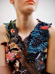 girlannachronism: Maison Martin Margiela fall 2013 couture backstage