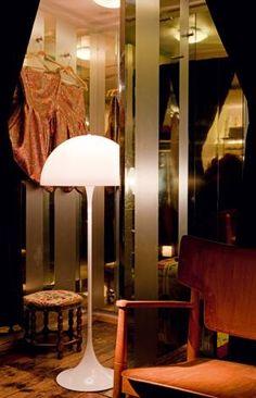 Pantella Floor Lamp, Verner Panton for Louis Poulsen