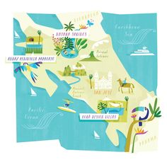 Mapping always fuels my wanderlust.This time, the lovely Johnny Morris, art director at Ultratravel, had sent me a great piece about the en...