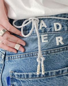 ADER Play #artwork #ader #adererror Ader Error, Detail Design, School Style, Fashion Marketing, School Fashion, Jeans Brands, Fashion Details, Booklet, Muse