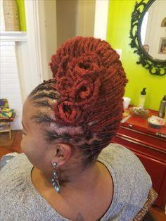 Natural Hair done Right Natural Hair Salons, Natural Hairstyles, 4 Life, Crochet Earrings, Dreadlocks, Hair Styles, Nature, Cute, Beauty