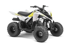 New 2017 Yamaha Raptor 90 ATVs For Sale in California. Electric start, reverse and true Raptor styling ensure the Raptor 90 will grab the attention of riders 10-years-old and up.