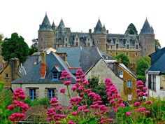 France, Flowers Chateau France Palace Medieval Spi #france, #flowers, #chateau, #france, #palace, #medieval, #spi