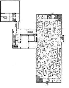 OTTO WUNSCH AND OTTO MOLLENHAUER OFFICE BUILDING FOR THE VERWALTUNGS-BERUFSGENOSSENSCHAFT, KAPSTADTRING/ÜBERSEERING HAMBURG CITY NORD, 1963-1966, DEMOLISHED 2004