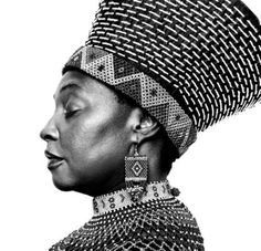 """Wearing her native crown.Yvonne Chaka Chaka was born in Dobsonville in Soweto. She became the first Black child to appear on South African television. In 1981 """"Sugar Shack"""", a talent show, introduced her to the South African public. Turbans, Black Kids, Black Women, Black Child, Black Is Beautiful, Beautiful People, Mocha, South African Artists, African Diaspora"""