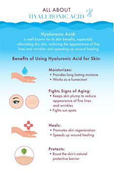 Hyaluronic Acid is known for its amazing skin benefits. It alleviates dry skin, reduces the appearance of fine lines and wrinkles, and speeds up wound healing! #superstaringredient #wanderbeauty #cleanbeauty #crueltyfree #hyaluronicacid