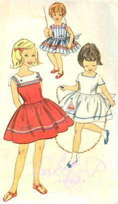 Sweet 1960's Pattern