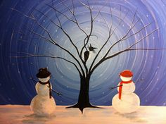 Original Whimsical Acrylic Painting-what Can You See - 16 X 20, Acrylic On…