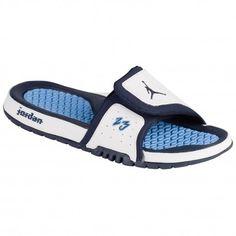 Jordan Hydro 2 Premier - Men's - Casual - Shoes - White/Midnight  Navy/University Blue-sku:56524104