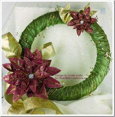 diy vintage christmas wreath