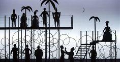 The Blacks (Les Nègr - The Blacks (Les Nègres). Odéon-Théâtre de l'Europe Paris. Design by Robert Martin. 2014 --- #Theaterkompass #Theater #Theatre #Schauspiel #Tanztheater #Ballett #Oper #Musiktheater #Bühnenbau #Bühnenbild #Scénographie #Bühne #Stage #Set