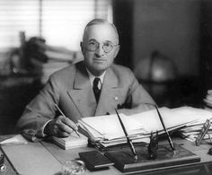 Harry Truman didn't accept any sort of paycheck once he left office, believing that taking advantage of his past time as president would destroy the integrity of the office. He lived on $113 per month, via his old army pension.