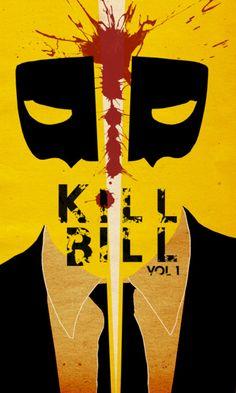Kill Bill. #minimalist #movieposters