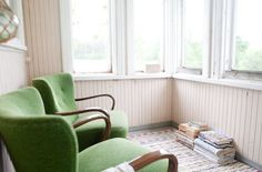 Kuistin värit (Vihreä Talo -blogista)