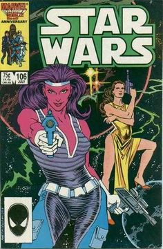 Want certified mint condition (9.8 - 10.0) Marvel Star Wars #106 comic book. July 1986.