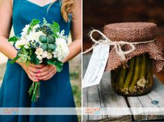 succulent bridesmaid's bouquet; flowers by Tall Tulips; photography by Michele Hart; Brit Stewart Weddings