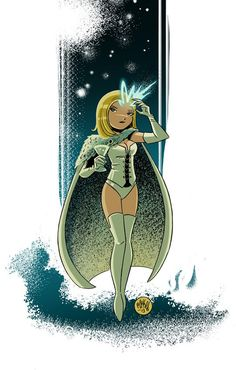 Emma Frost by Mike Maihack