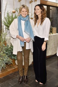 C Social Front. Jenni Kayne + Martha Stewart Living 25th Anniversary Party — Martha Stewart & Jenni Kayne