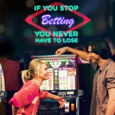 """If you stop betting, you never have to lose."" - What Happens In Vegas ©2014 FOX All Rights Reserved"