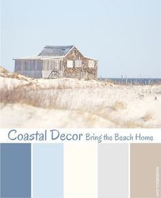 Coastal Decorating is one of this years hottest design trends. Get Inspired and 'Bring the Beach Home'
