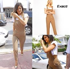 Kylie Jenner outfit / Asos tailored jumpsuit from ASOS.com  ($42.34)