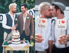 Eine #Hochzeit zum Verlieben: #schwul und #glücklich