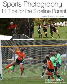 Now that the kids are back to school, get ready for after-school sporting events. Master these 11 tips for sideline photography.