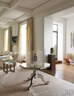 A Manhattan Apartment Makeover by Peter Shelton and Lee F. Mindel : Interiors + Inspiration : Architectural Digest