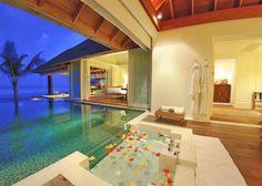 indoor outdoor bathrooms - Google Search