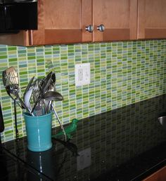 backsplash - not sure i want this, but it's the same colors as our cabinets and countertops