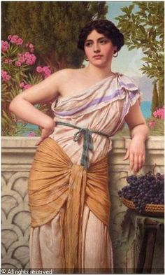 Reverie. John William Godward.