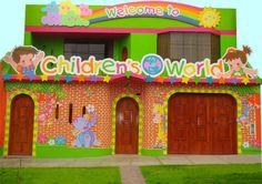 Decoracion de Nidos y Colegios - Decoracion infantil en Lima Preschool Classroom Decor, Toddler Classroom, Art Classroom, School Building Design, School Design, Home Daycare, Daycare Rooms, Design Maternelle, Abc School