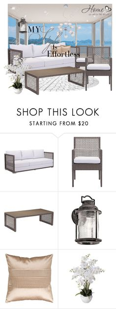 """lampsplus#5"" by sabahetasaric ❤ liked on Polyvore featuring interior, interiors, interior design, home, home decor, interior decorating, Zuo, Kichler, Surya and Dahlia Studios"