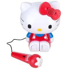 "Hello Kitty Sing-a-Long Karaoke - Sakar International - Toys ""R"" Us $19.99"
