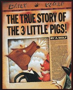 Book Activities: The True Story of the Three Little Pigs.   This is great to pair with the traditional fairy tale and compare and contrast the two.