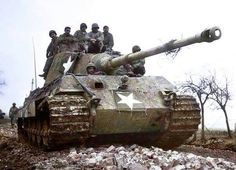 King Tiger in US hands, probably after the Battle of the Bulge, pin by Paolo Marzioli