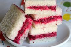 Beetroot Party Sandwiches - Beetroot party sandwiches are delicious and easy to make for appetizers or snacks.