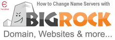 How to point your bigrock Domain to your Hostgator Hosting?